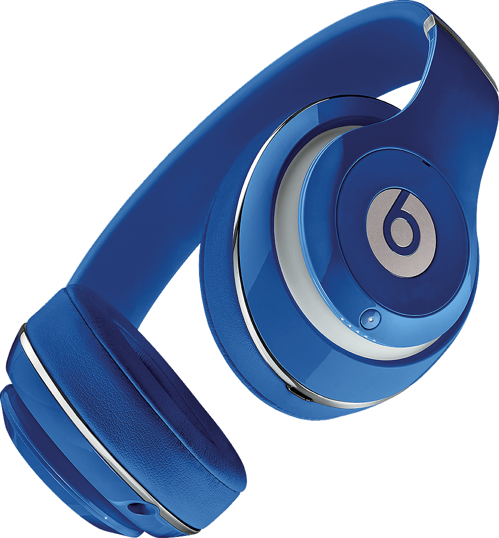 Blue Beats Studio Wireless Over-ear Headphones.4