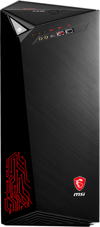 Black MSI Infinite A 8RE.1