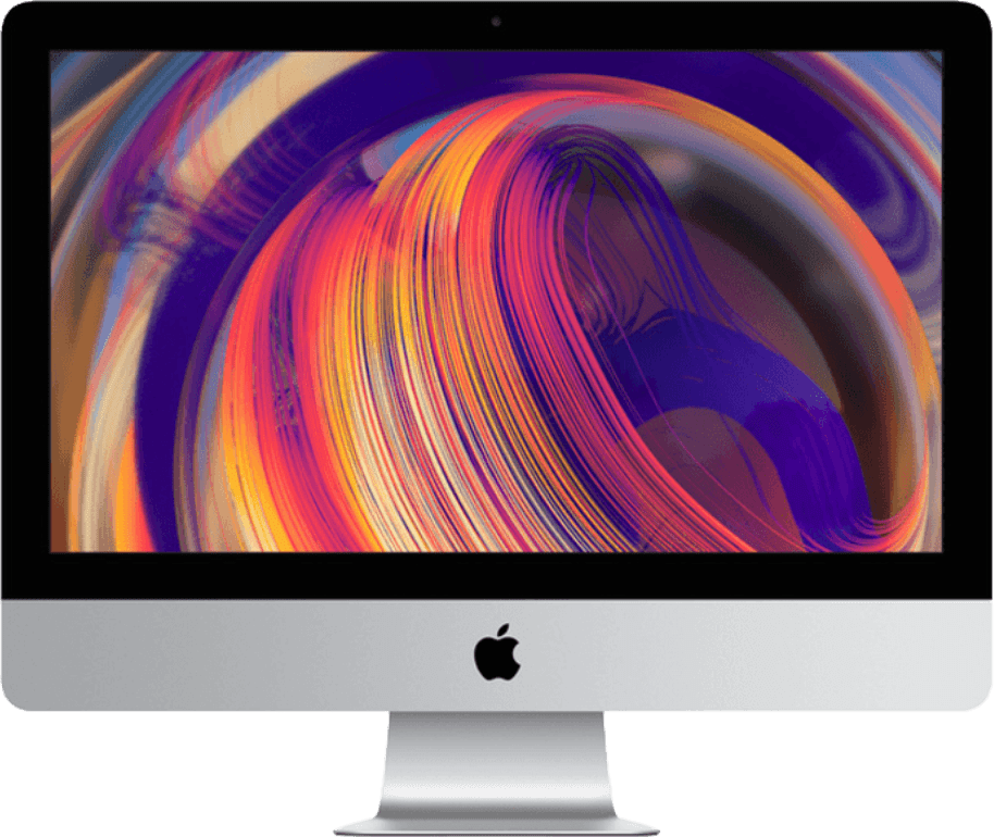 "Silver Apple iMac 21.5"" Retina 4K (Early 2019).1"