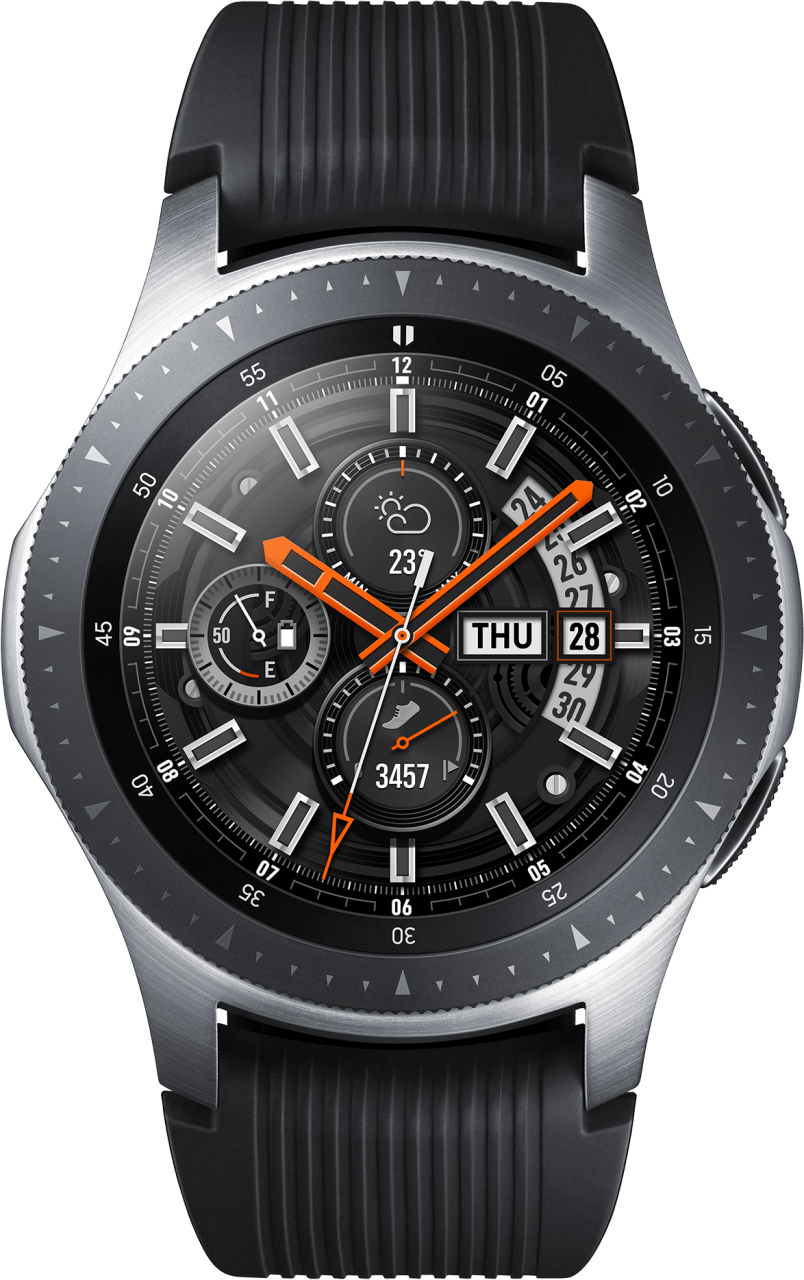 Silber Samsung Galaxy Watch LTE, 46mm.1
