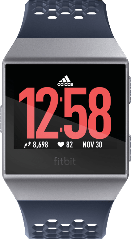 Inc Blue / Ice Grey Fitbit Ionic: Adidas Edition.1