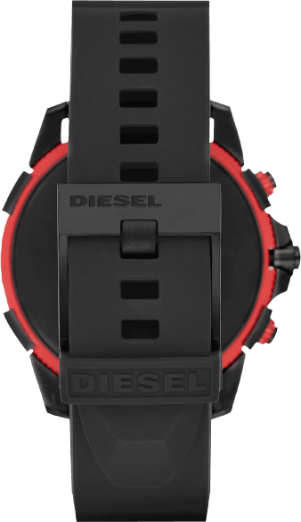 Black Silicone Band  Diesel On Full Guard 2.5.3