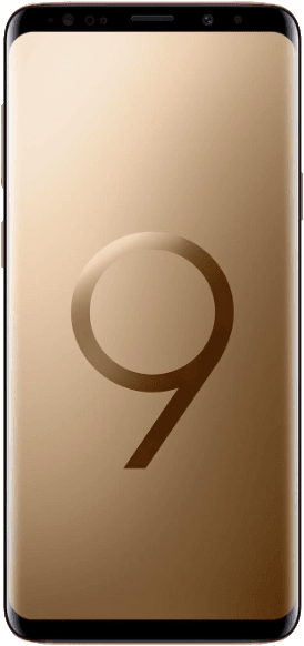 Gold Samsung Galaxy S9+ 64GB.1