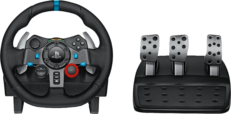 Black Logitech G29 Driving Force Racing.2