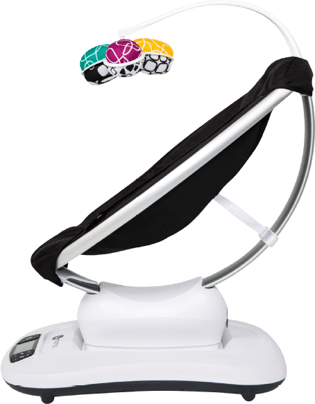 Black 4MOMS mamaRoo 4.3