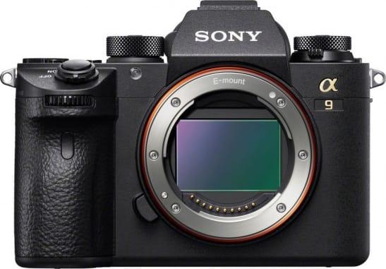 Schwarz Sony Alpha 9 Body.1