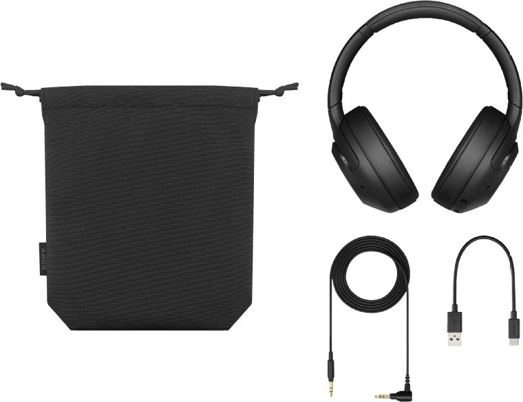 Black Sony XB900N Over-ear headphones.3