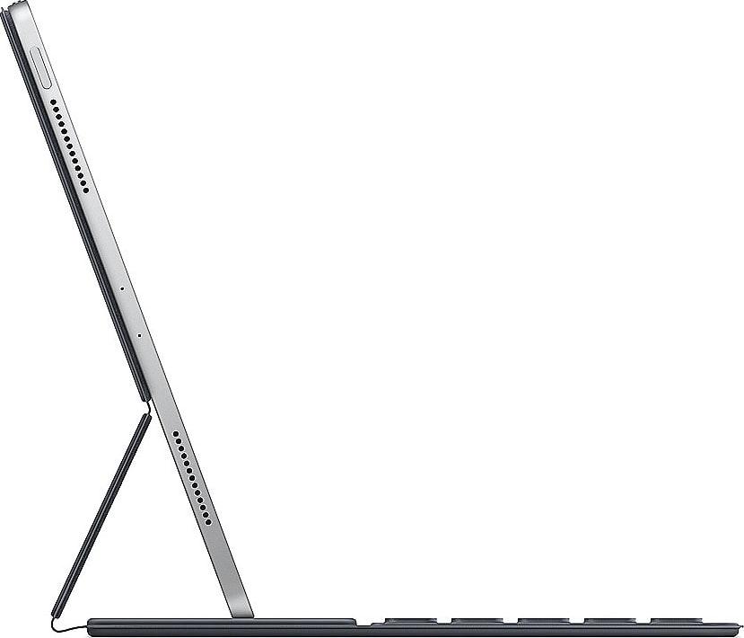 Dunkelgrau Apple Smart Keyboard Folio (2019).2