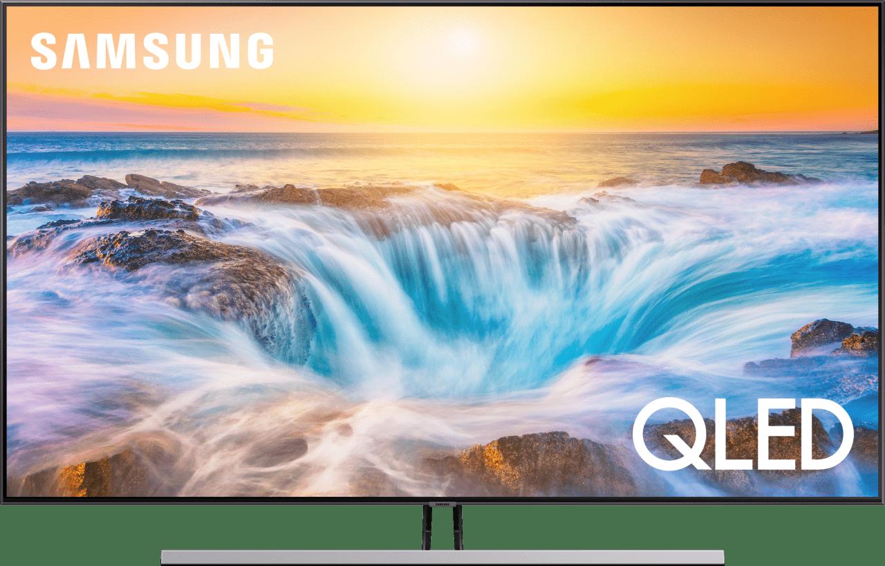 "Silber Samsung TV 55"" Q85R.1"