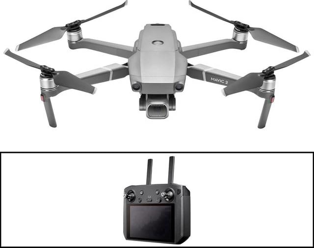 Gray DJI Mavic 2 Pro with Smart Controller.1