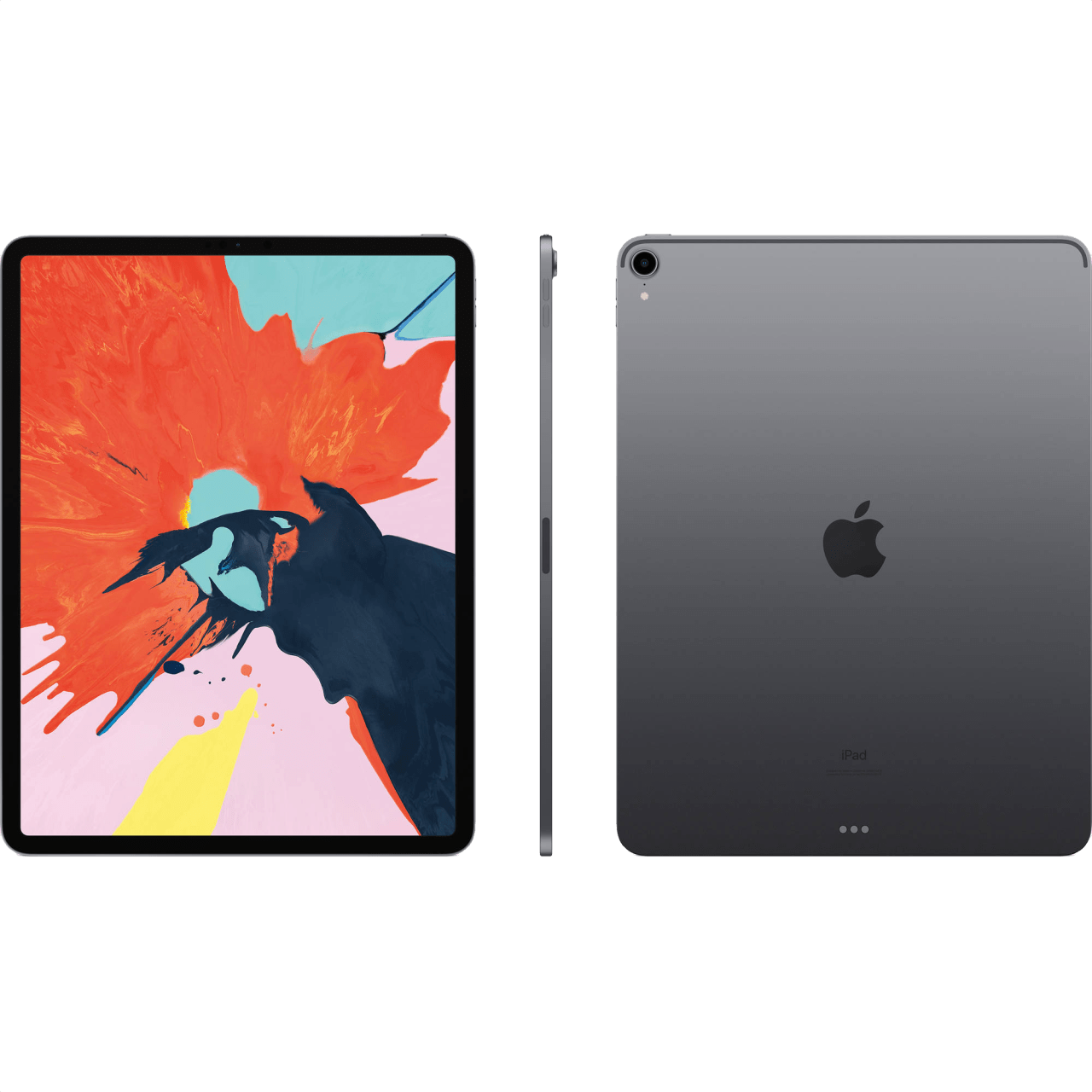"Space Grey Apple 12.9"" iPad Pro Wi-Fi + Cellular (2018).2"