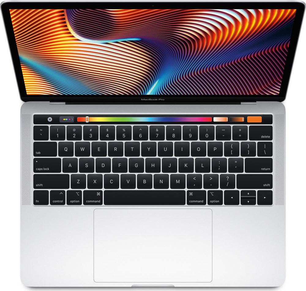 "Silber Apple 13"" MacBook Pro Touch Bar (Mid 2018).2"