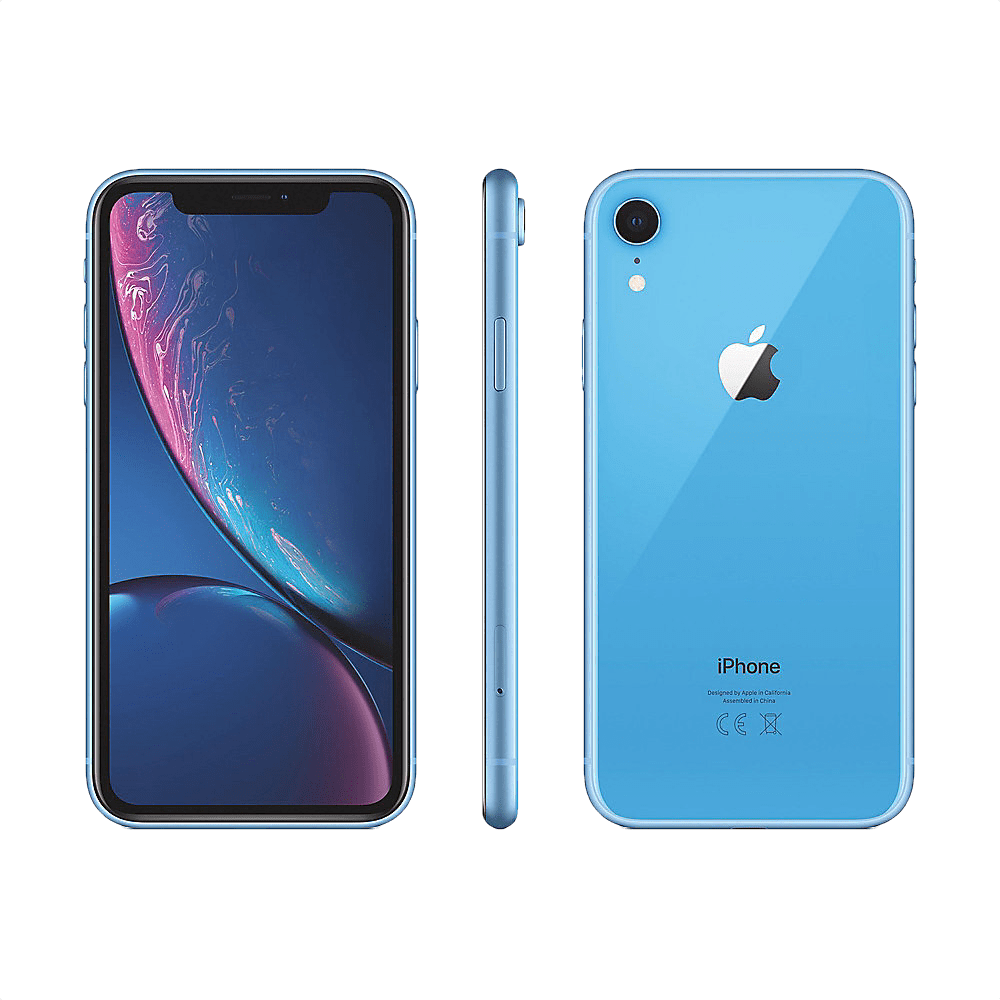 Blue Apple iPhone Xr 64GB.2