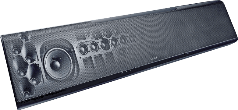 Black Yamaha YSP-5600.4