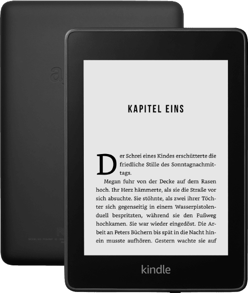 Black Amazon Kindle Paperwhite 2019.1