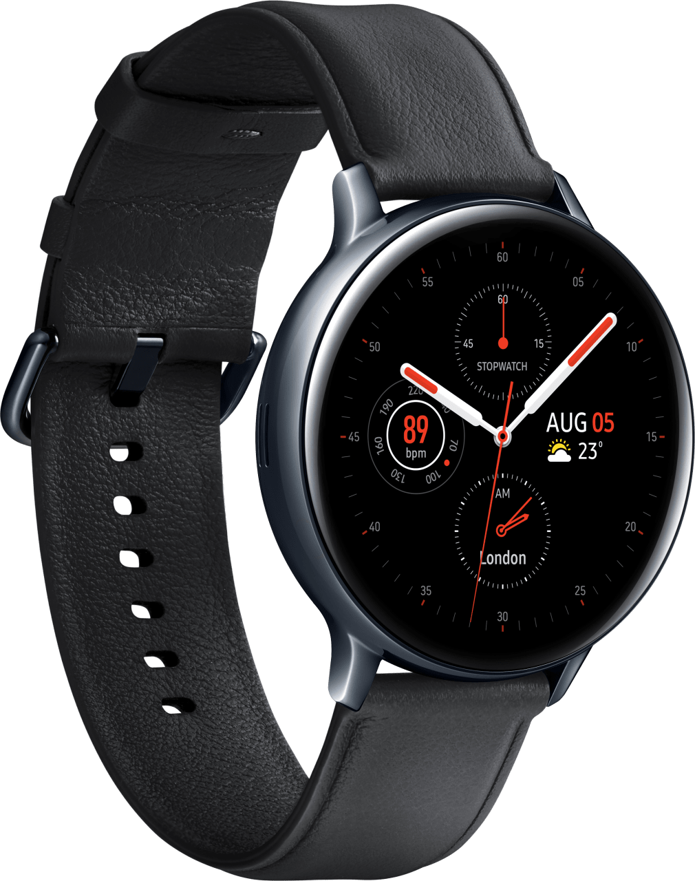 Schwarz Samsung Galaxy Watch Active2 (LTE), 44mm.2