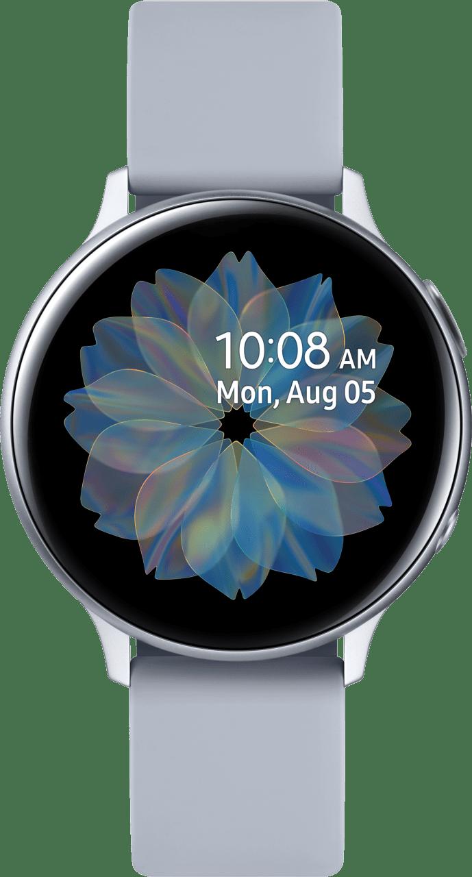 Cloud Silver Samsung Galaxy Watch Active2, 44mm Aluminium case, Sport band.1