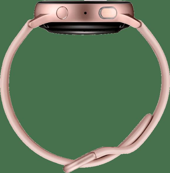 Pink Gold Samsung Galaxy Watch Active2, 40 mm Aluminium-Gehäuse, Sportband.4