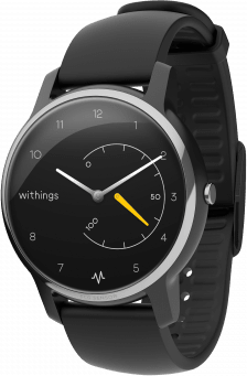Black Withings Move ECG Fitness Watch, 38mm.2