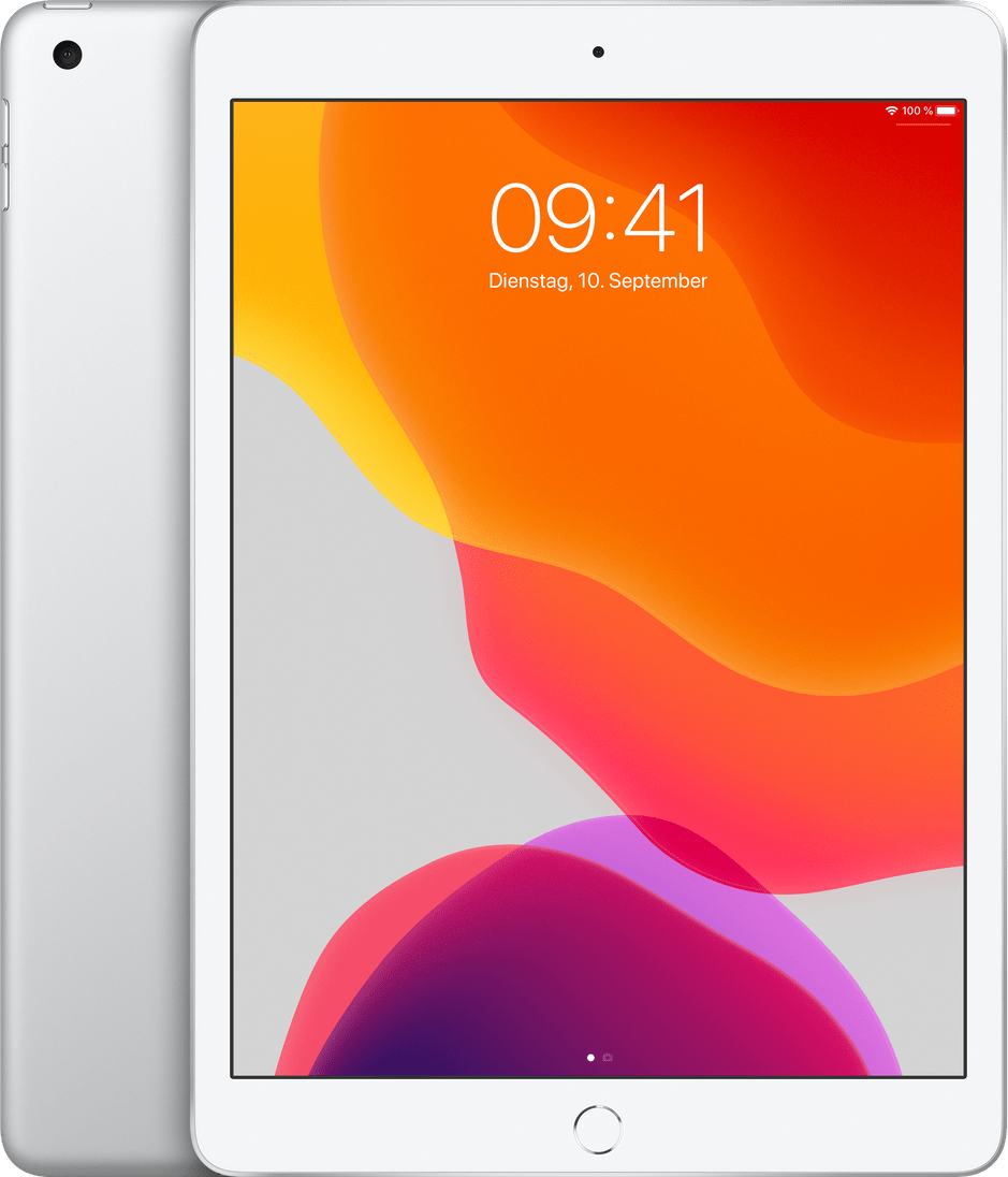 Silver Apple iPad (2019) Wi-Fi 128GB.1