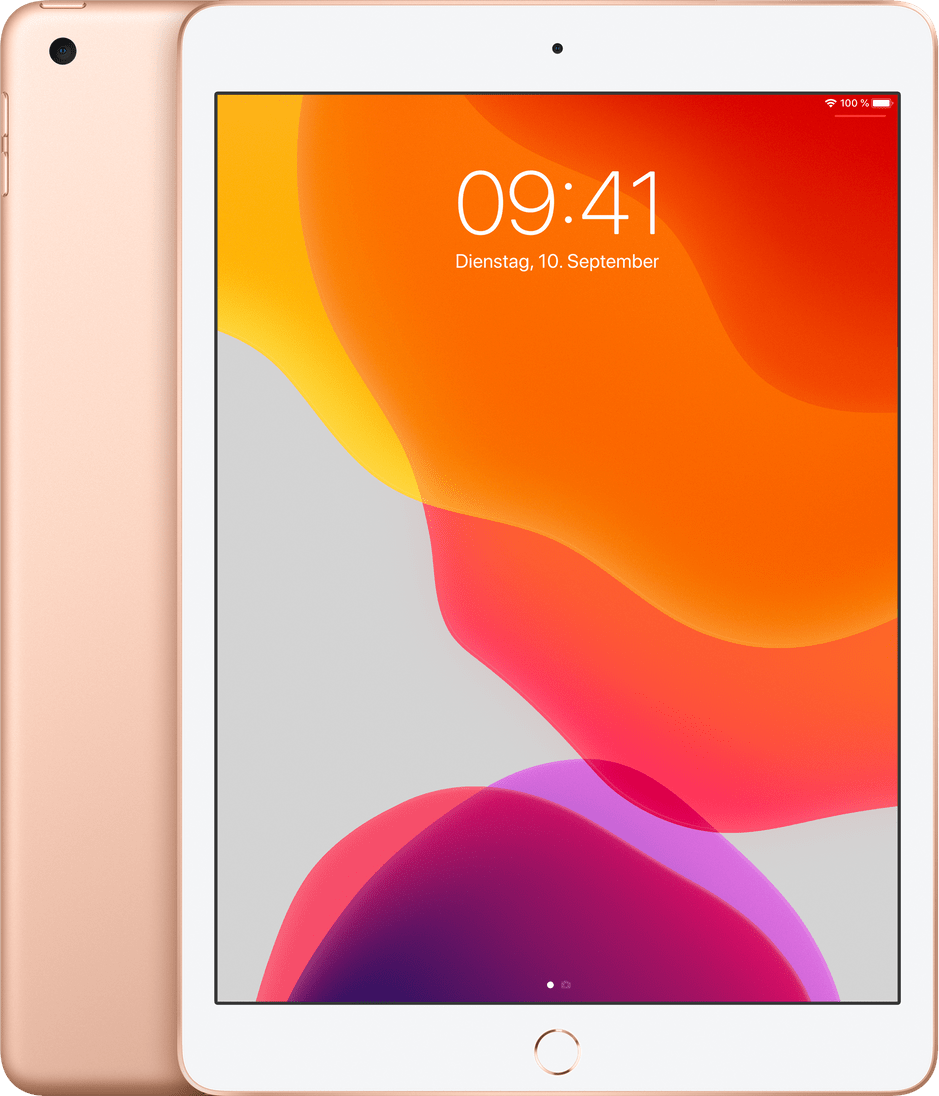 Gold Apple iPad (2019) Wi-Fi + Cellular 128GB.1