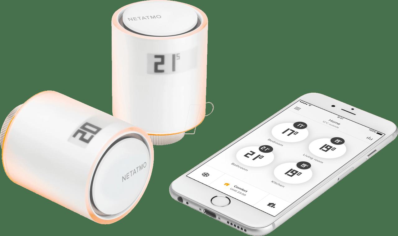 Weiss Netatmo NVP01-EN Starter Kit.1