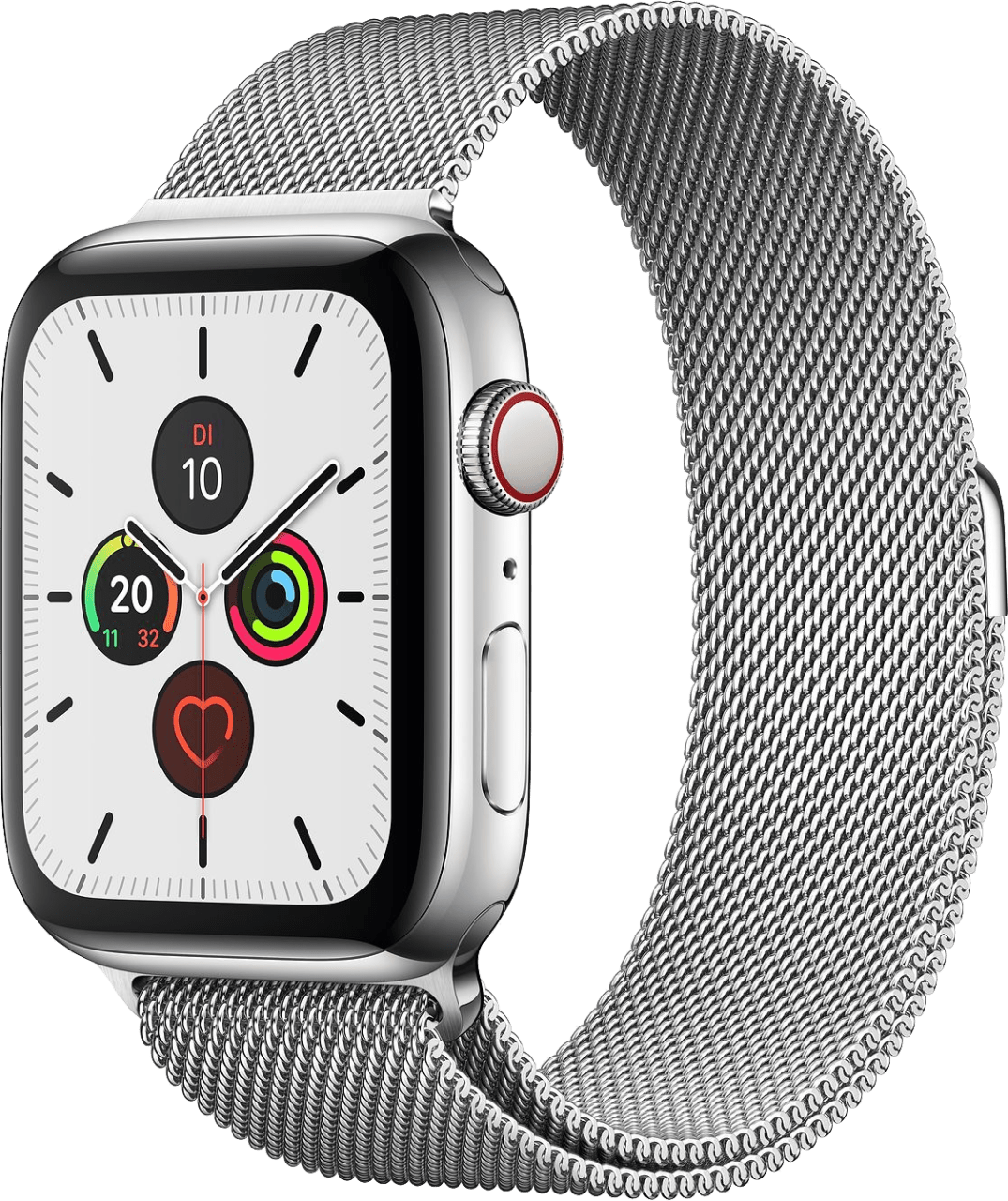 Silber Apple Watch Series 5 GPS + Cellular, 40mm.2