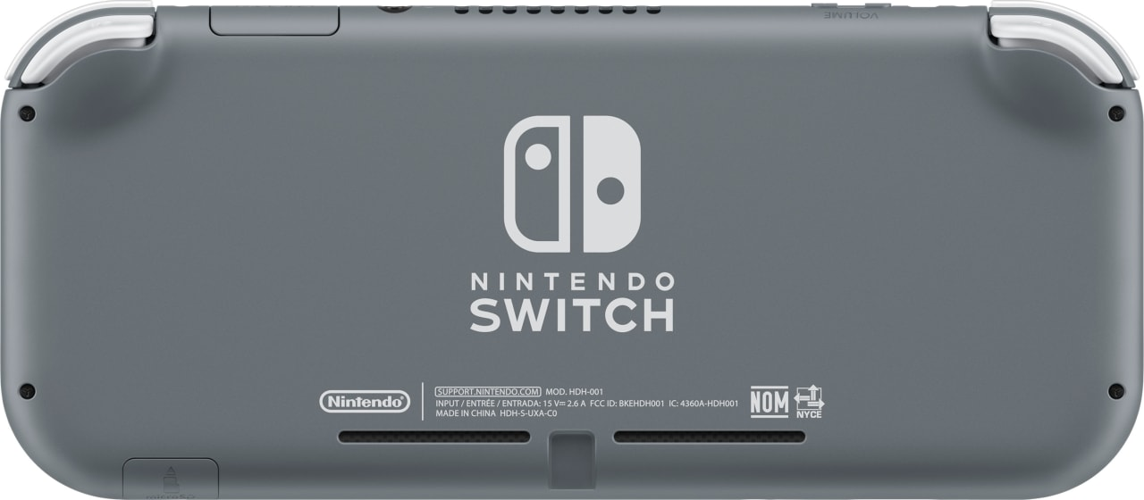 Grey Nintendo Switch Lite.2