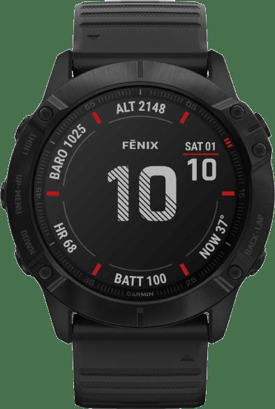 Black Garmin Fenix 6x Pro.1