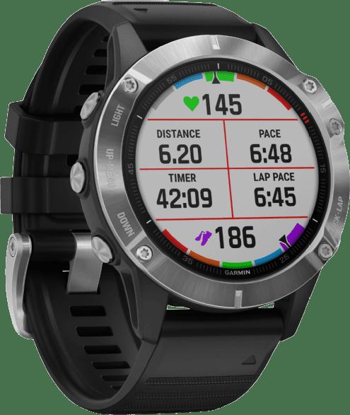 Black Garmin Fenix 6 GPS Sports watch.2