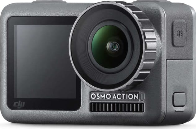 Black DJI Osmo Action.1