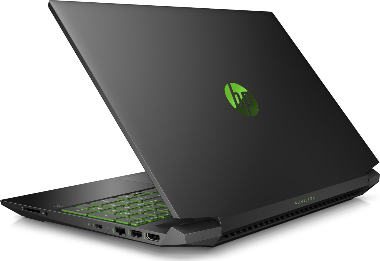 Shadow Black / Acid Green HP Pavilion Gaming 15-ec0005ng.4
