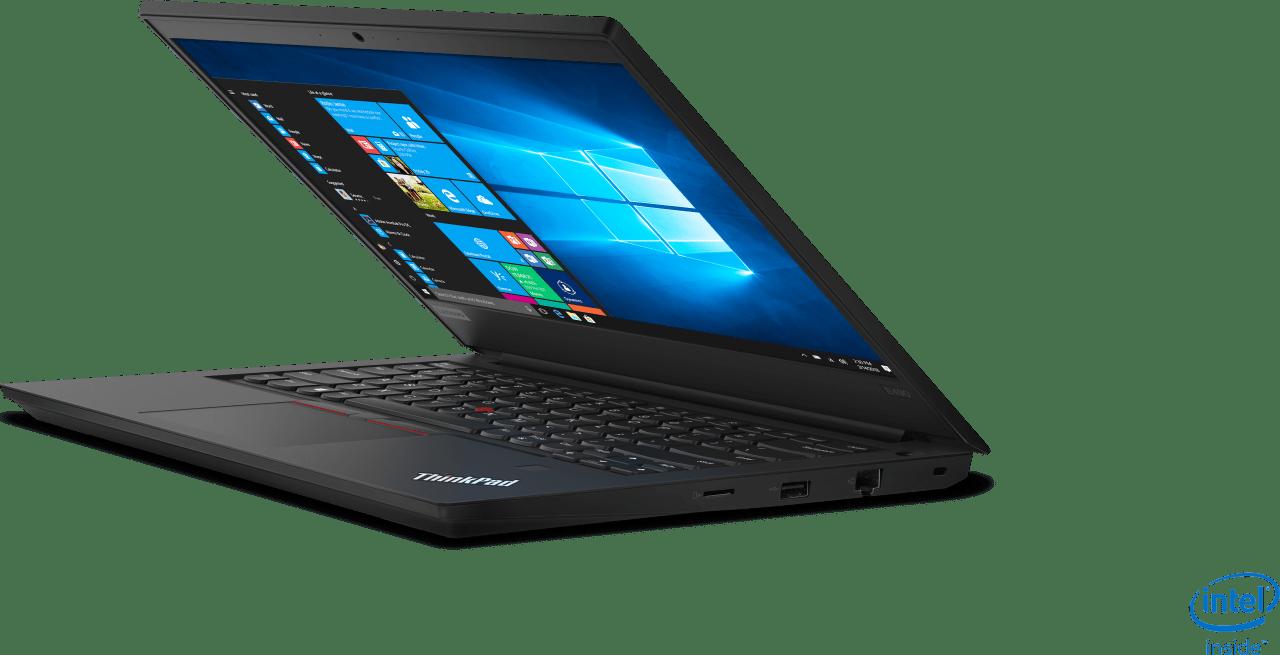 Black Lenovo ThinkPad E490.2