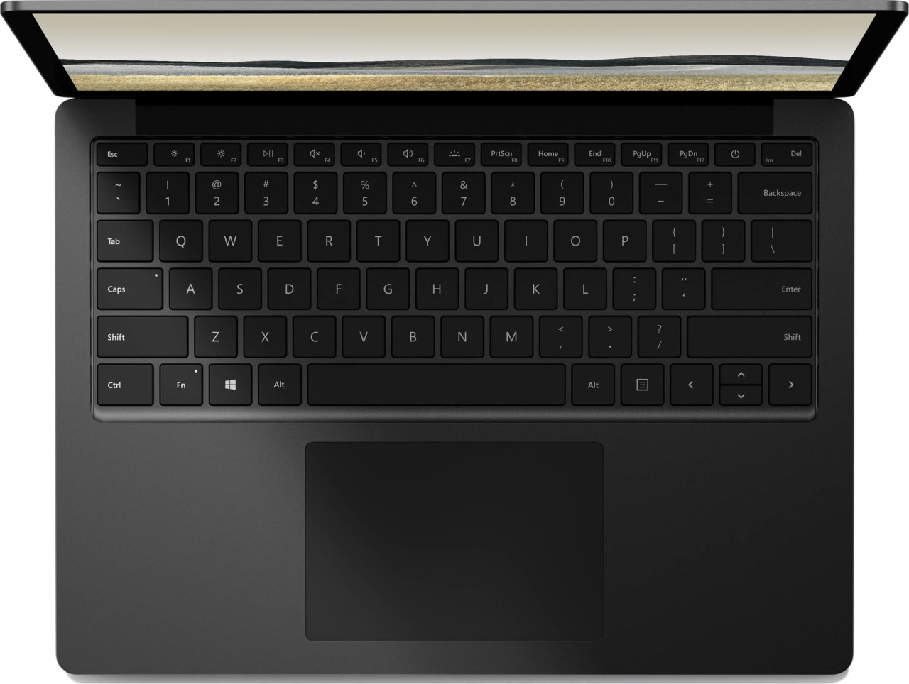 Black (Metal) Microsoft Surface Laptop 3.2