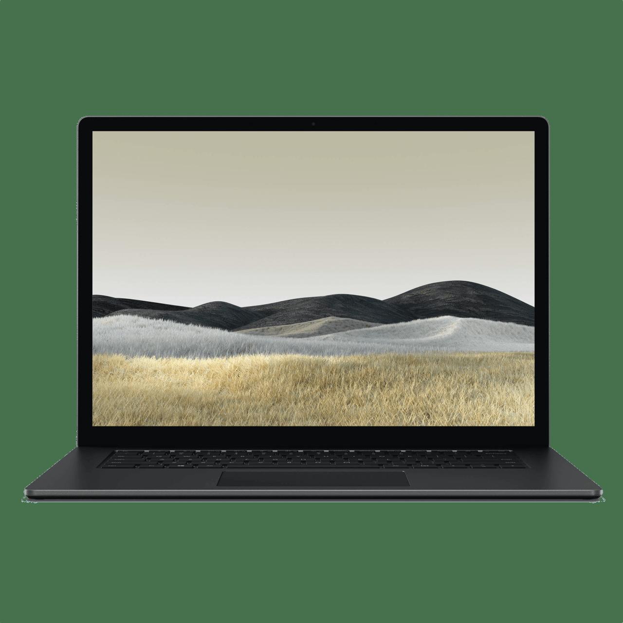 Black (Metal) Microsoft Surface Laptop 3.1