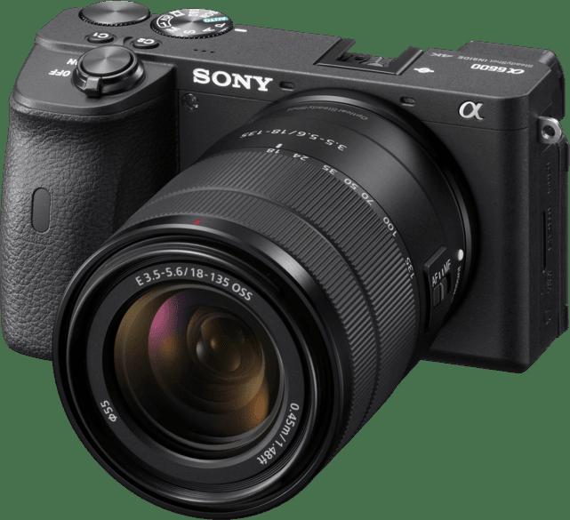 Negro Sony ALPHA 6600 System Camera + Lens (18-135mm) Kit.1