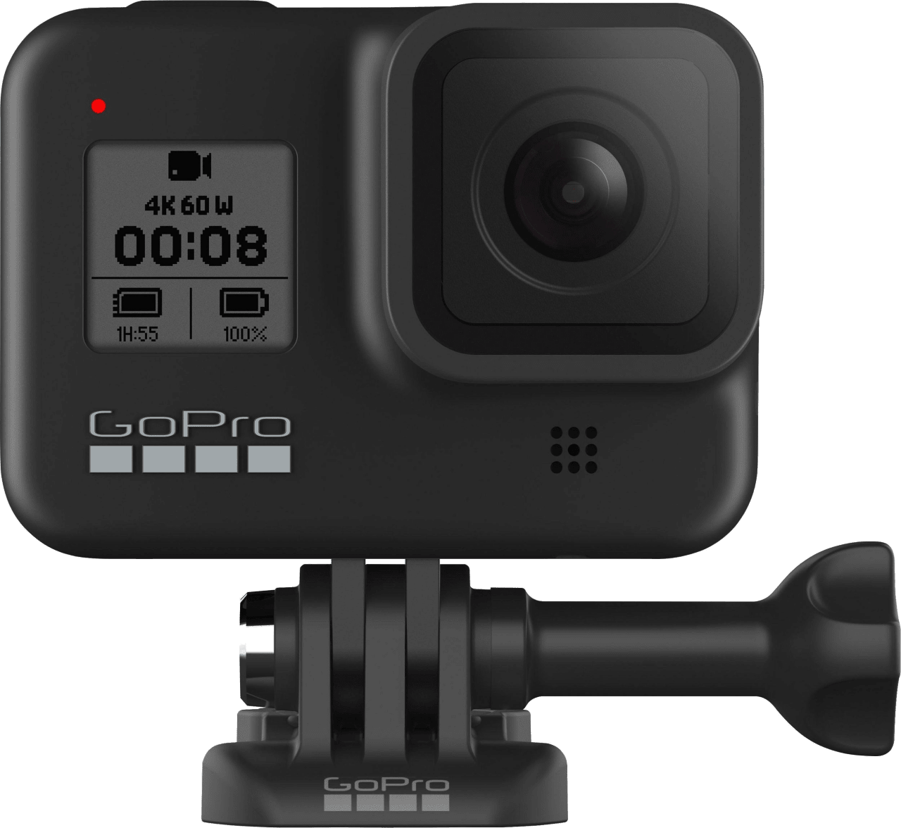 Black GoPro HERO8.4