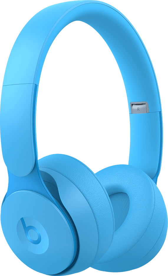 Light Blue Beats Solo Pro Noise-cancelling Over-ear Bluetooth Headphones.1
