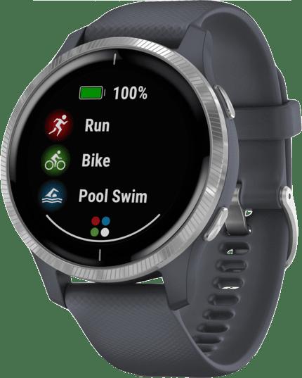 Granite Blue Garmin Venu Smartwatch.3