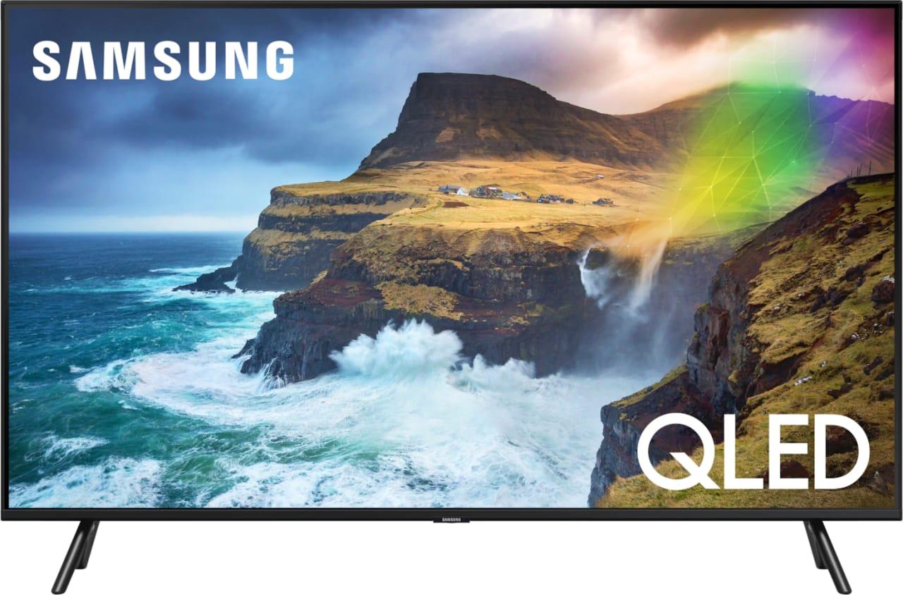 """Schwarz Samsung TV 49"""" Q70R.1"""