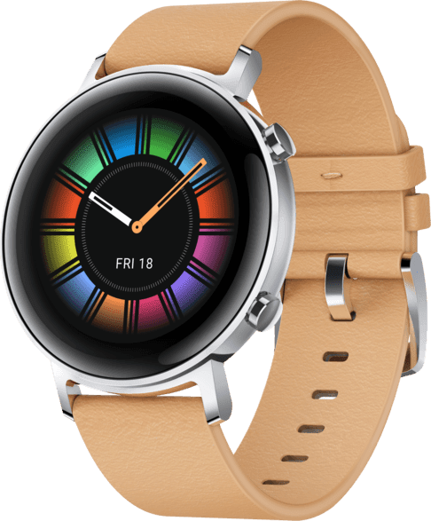 Beige Huawei Watch GT2 Classic, 42mm.1