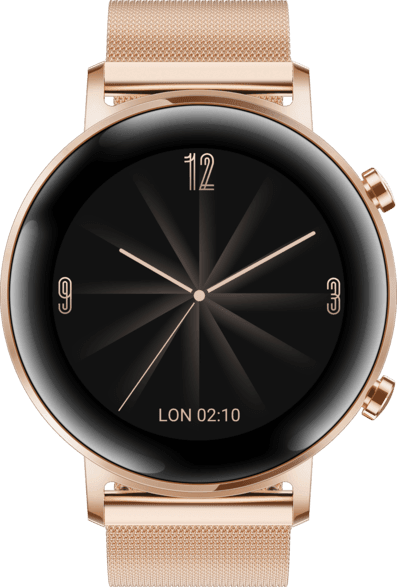 Rose Gold Huawei Watch GT2 Elegant, 42mm.2