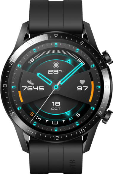 Schwarz Huawei Watch GT2 Sport Edition, 46mm.3