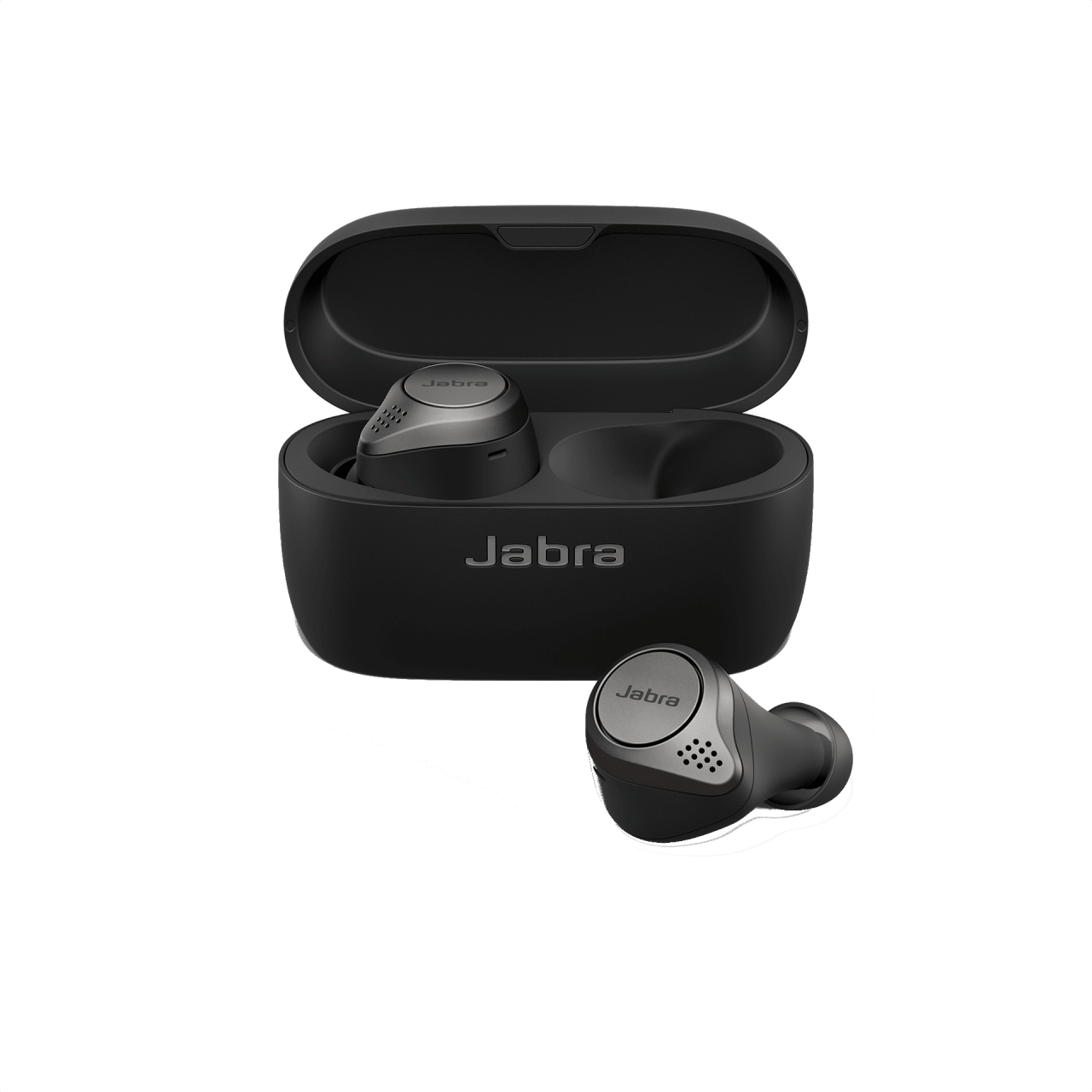 Schwarz Jabra Elite75t.2