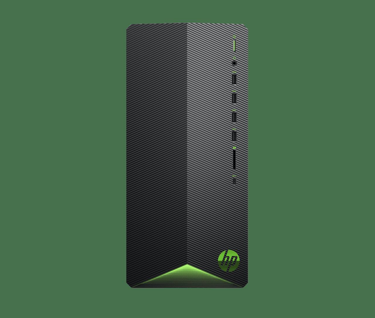 Black HP Pavilion Gaming Desktop TG01-0017ng.1