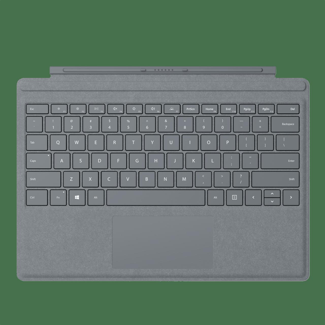 Platinum Microsoft Surface Pro Signature Type Cover  .1