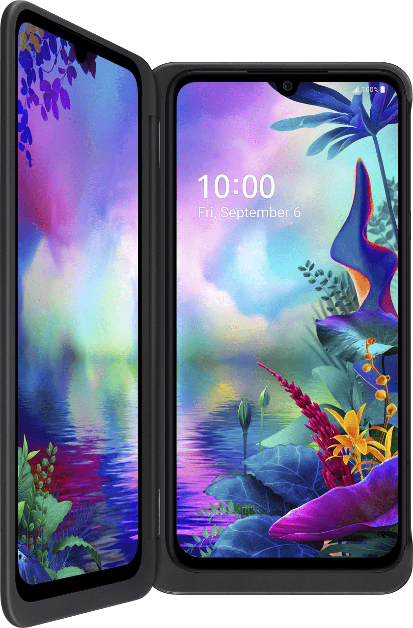 Schwarz LG G8X ThinQ Dual Screen 128 GB Dual SIM.1