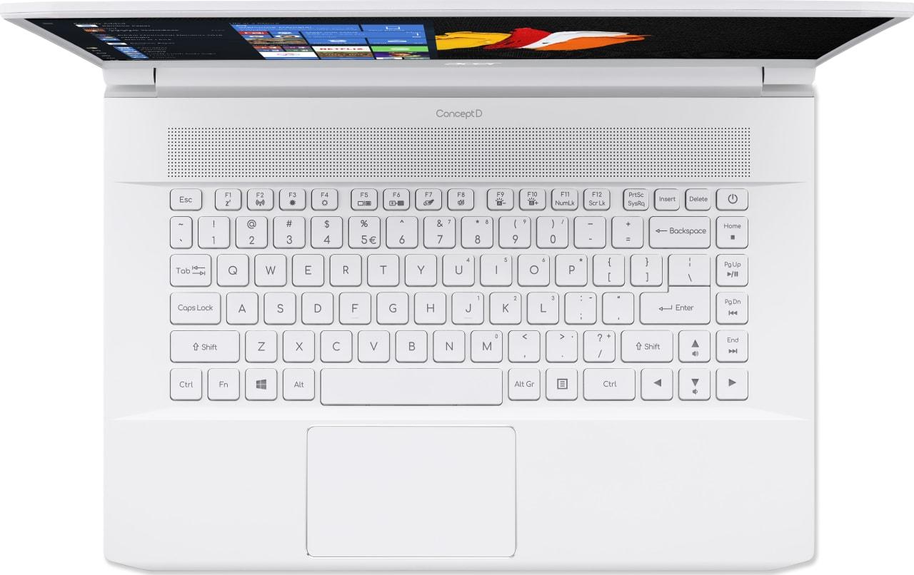 White Acer ConceptD 7 CN715-71-743N.4
