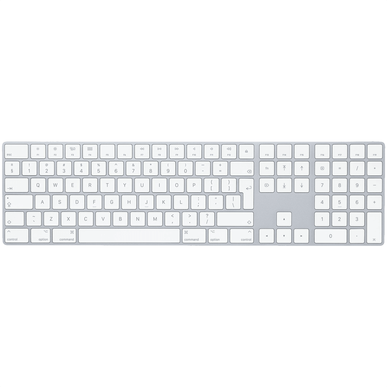 Silver Apple Magic Keyboard with Numeric Keypad.1