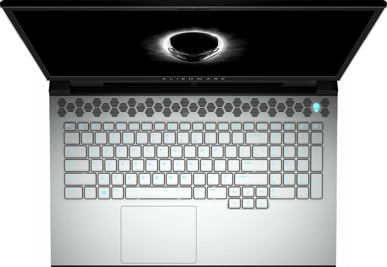 Schwarz / Weiß Alienware M17 R2.3